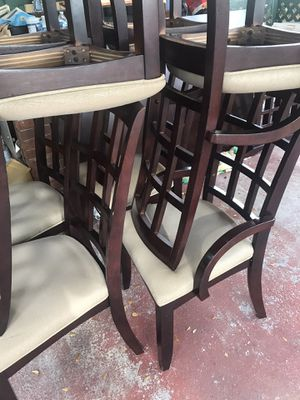 Dinner table with 8 chairs for Sale in Hollywood, FL