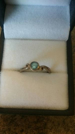 Silver Aquamarine ring sz5 for Sale in Kent, WA