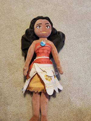 Disney Moana plush for Sale in Haines City, FL