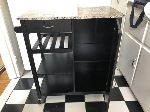 Kitchen Storage Cabinet Cart