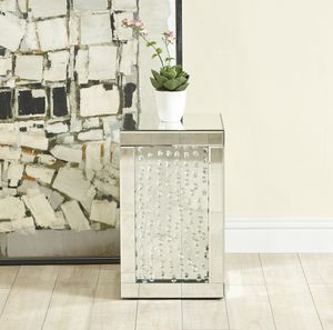 Crystal end table for Sale in Philadelphia, PA