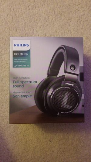 Phillips SHP9500 Open Back Headphones + VModa BoomPro for Sale in Chino, CA