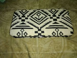 Brand new wallet black and white with really cute designs for Sale in Salt Lake City, UT