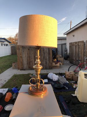 Solid Brass Antique Lamp for Sale in Los Angeles, CA