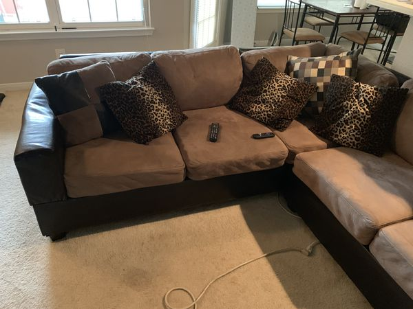 L - Shaped Sectional Couch