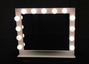 Vanity mirror only bulbs makeup glass maquillaje espejo beauty furniture for Sale in Houston, TX