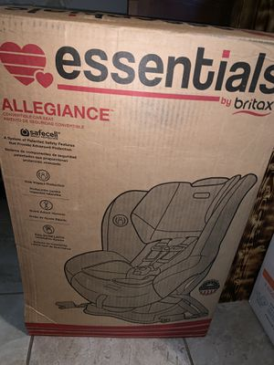 Allegiance car seat brand new for Sale in Tyler, TX