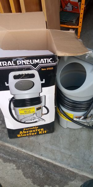 Portable abrasive Blaster kit for Sale in Newport News, VA