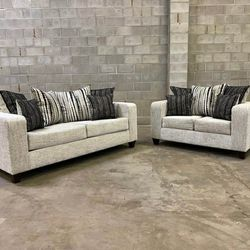 🎵Urban Off-White Living Room Set🎵⏰39 DOWN⏰ for Sale in Houston,  TX