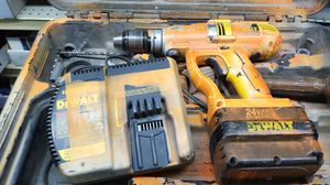 Tools 24 volt hammer drill for Sale in Los Angeles, CA