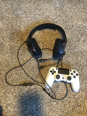HyperX Gaming Headset and PS4 Controller for Sale in Spring Valley, CA