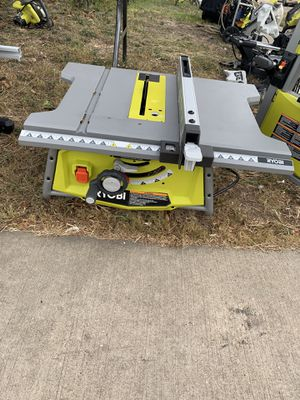 "Ryobi 10"" Table Saw ( Stand Optional ) for Sale in Dallas, TX"