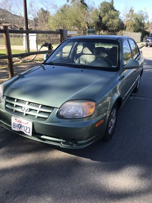 Hyundai Accent 2004 64 k Millas for Sale in Poway, CA