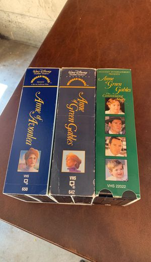 Anne of green gables vhs for Sale in Camas, WA
