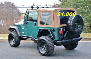 🔥🔑🔑$1000🔑🔑 For Sale URGENT 🔑🔑2000 Jeep Wrangler CLEAN TITLE🔑🔑 for Sale in Oakland, CA