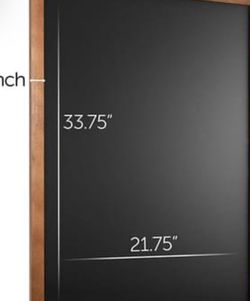 """Black Chalkboard with wooden frame 36"""" x 24"""" for Sale in Seattle,  WA"""
