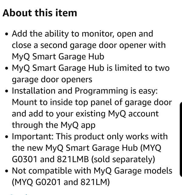 My Q Smart Garage