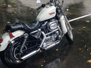Harley Sportster 1200 CC Custom Pearl White for Sale in Rockville, MD