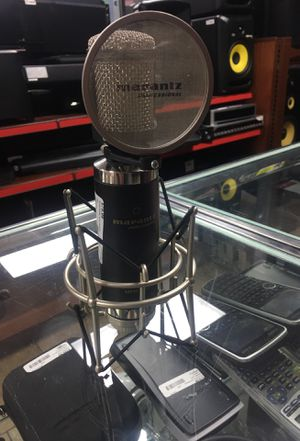 Marantz professional condenser mic for Sale in Phoenix, AZ
