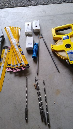 tools,locks mental cutting blades pcv pipe cutter still bits for Sale in Hillsboro, OR