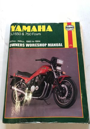1980-1984 Yamaha motorcycle Haynes Owner Workshop Manual for Sale in Tiverton, RI
