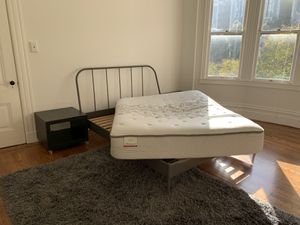 Minimalist Bed Frame with Maximally Comfortable Mattress for Sale in San Francisco, CA