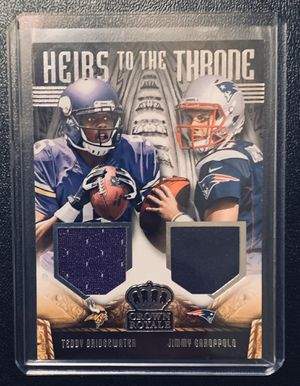 2014 Crown Royals Football Vikings Pats 49ers Bridgewater Garoppolo Patch RC/399! for Sale in Houston, TX