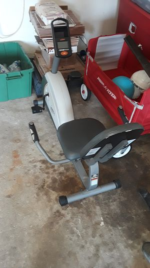 Very nice stationary exercise bike$50 for Sale in Harvey, LA