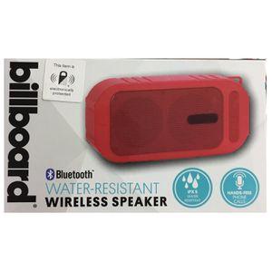 Billboard Wireless Speaker IPX5, water resistant, Bluetooth, Red for Sale in Miami, FL