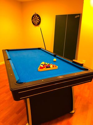 """POOL TABLE, PING PONG TABLE, AND """"AIR HOCKEY"""" in 1 for Sale in Clifton, VA"""