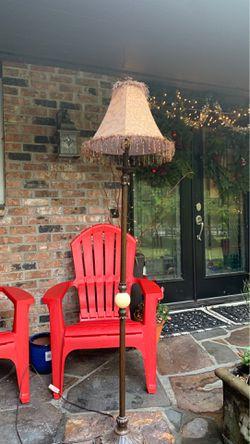 Talk beaded floor lamp for Sale in Redmond,  WA