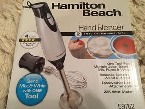 Hand blender new for Sale in St. Louis, MO