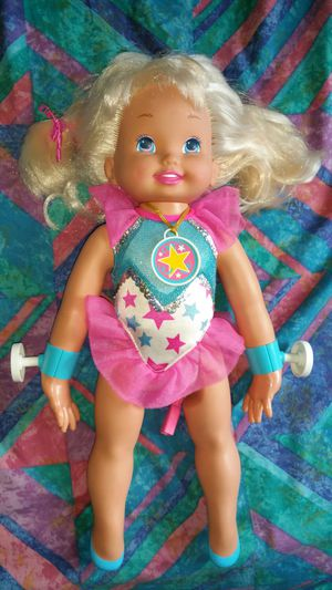 Vintage Super Jennie Gymnast Mattel Doll 1993 ...doll only for Sale in Los Angeles, CA