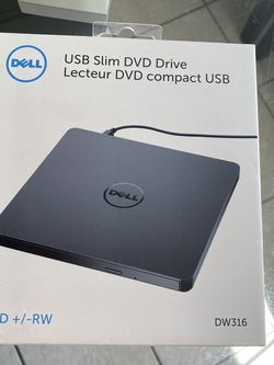 Usb Slim DVD Drive Lecteur DVD Compact USB for Sale in Orlando,  FL