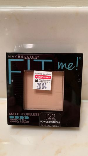 Maybelline Fit Me matte + poreless pressed powder in #122 creamy beige for Sale in Alexandria, VA
