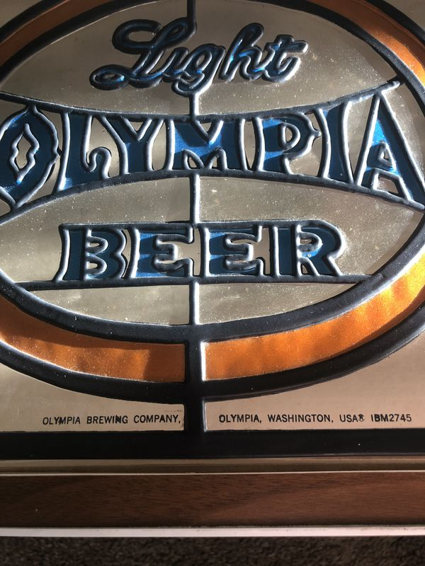 Olympia Beer Sign for Sale in Montesano, WA - OfferUp