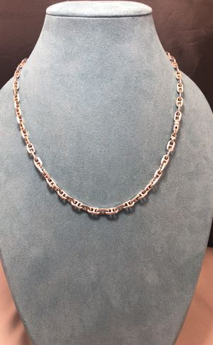 Gucci link Chain White gold for Sale in Phoenix, AZ