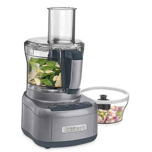 Cuisinart® Elemental 8-Cup Food Processor with 3-Cup Bowl in Gunmetal for Sale in West Orange, NJ