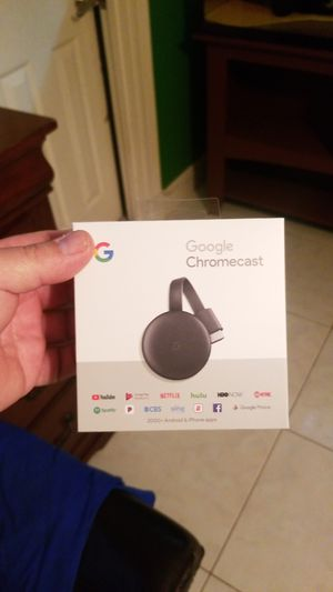 Brand new chromecast for Sale in Pembroke Pines, FL