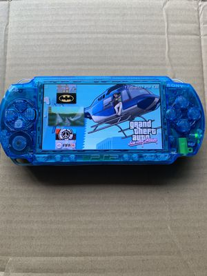 PSP Clear Blue With 5,000+ Games & Movies 🔥 for Sale in Santa Ana, CA