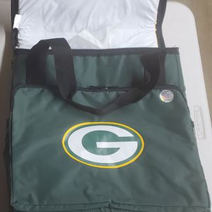 NEW Green Bay Packers Insulated Rolling Cooler with Collapsible Handle for Sale in Orange, CA