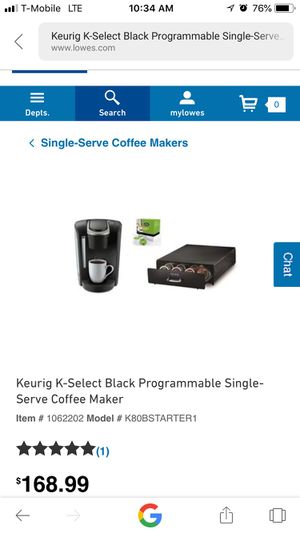 KEURIG /with storage draw for Sale in Garland, TX