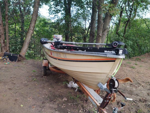 14' mirror craft with 30 hp chrysler