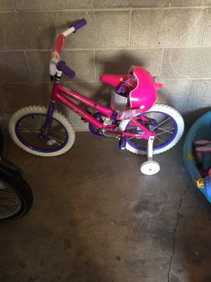 Girls Bike With Helmet for Sale in Columbus, OH