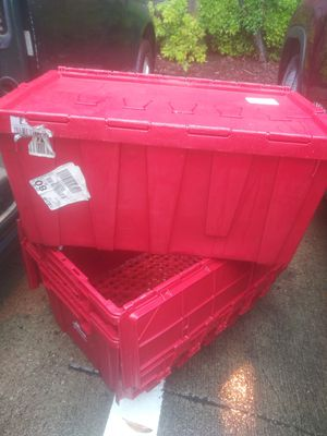 STORAGE TOTES for Sale in Arlington, TX
