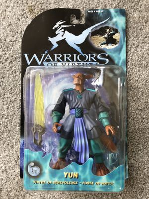 15cm Yun Action Figure - Warriors of Virtue. for Sale in Atlanta, GA