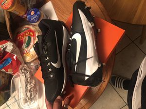 Nike air clippers baseball cleats for Sale in Lakeland, FL