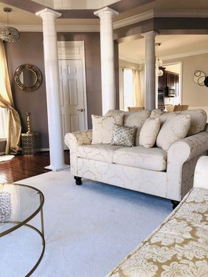 French set ( Sofa & loveseat). less than 6 months. for Sale in Centreville, VA