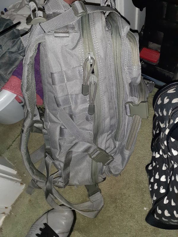 Loaded hear tactical back pack basically brand new 50 obo