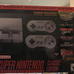 Super Nintendo Classic Edition for Sale in Phoenix, AZ